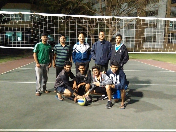 Volleyball winners 1st Year